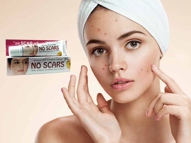 No Scars Cream Effective Cream To Treat Skin Inflammation