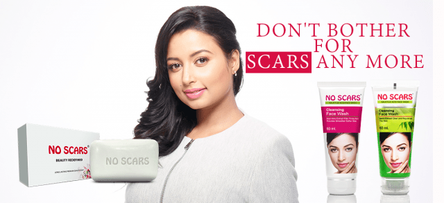 remove burn scars on face