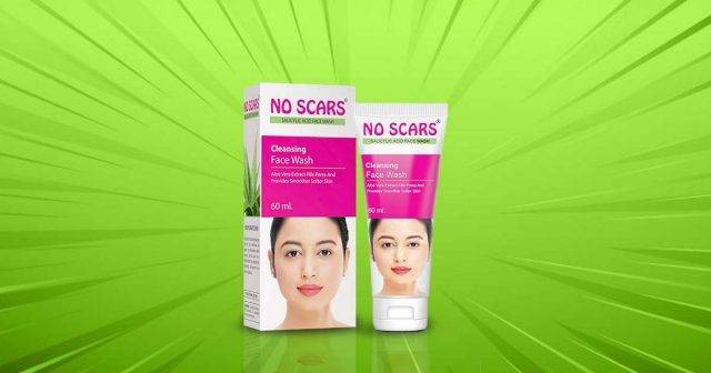Scar removal face wash