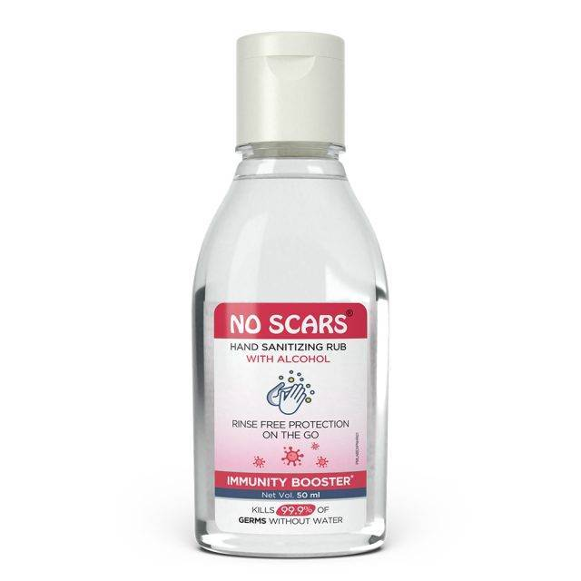 Alcohol rub handsanitizer