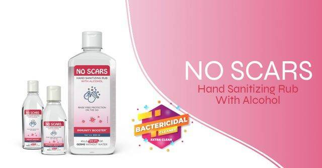 Hand sanitizer for bacteria